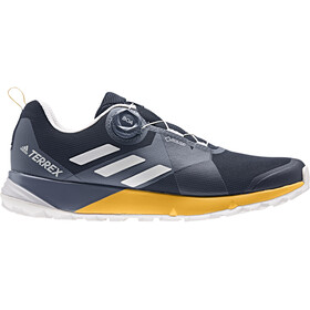 adidas TERREX Two Boa GTX Chaussures Homme, collegiate navy/grey one/active gold